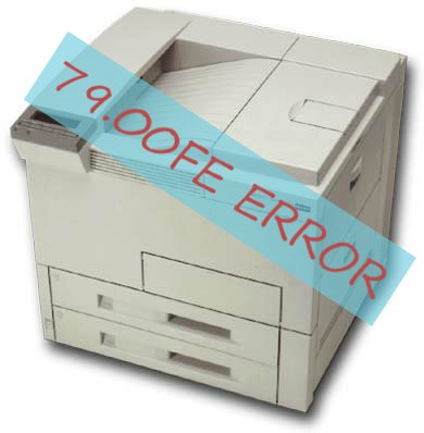 HP 8100dn 79.00FE error - fix / solution
