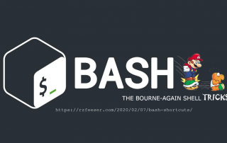 Helpful bash shortcuts
